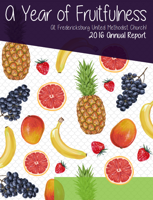 A year of fruitfulness cover