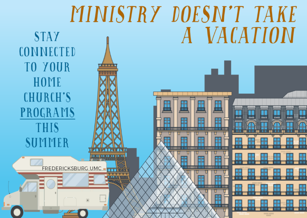 ministry doesn't take a vacation programs